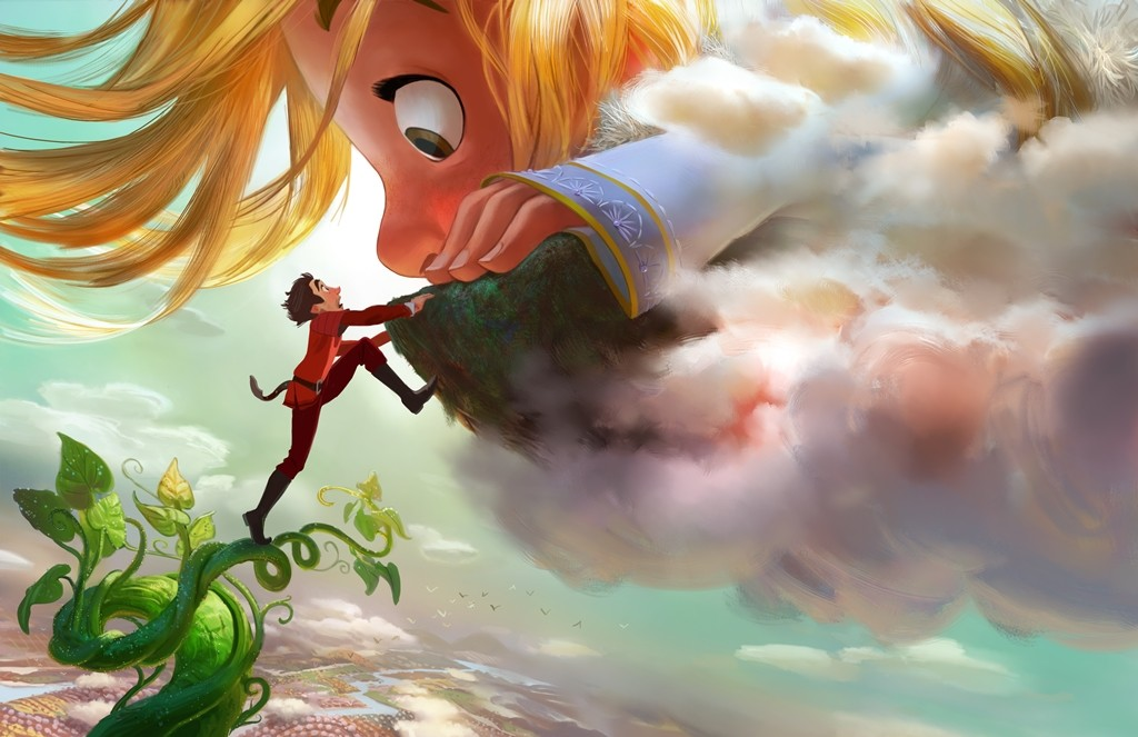 "GIGANTIC ? DOWN TO EARTH ? Adventure-seeker Jack discovers a world of giants hidden within the clouds, hatching a grand plan with a 60-foot-tall, 11-year-old girl. Directed by Nathan Greno (""Tangled"") and produced by Dorothy McKim (""Get A Horse!""), ""Gigantic"" hits  U.S. theaters in 2018. ?2015 Disney. All Rights Reserved."
