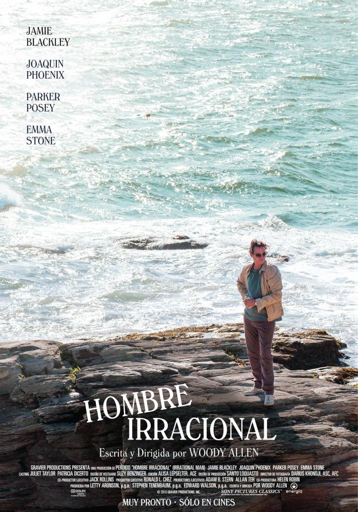 Hombre Irracional Poster Baja