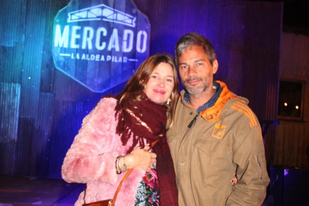 Dolores Barreiro y Matias Camisani