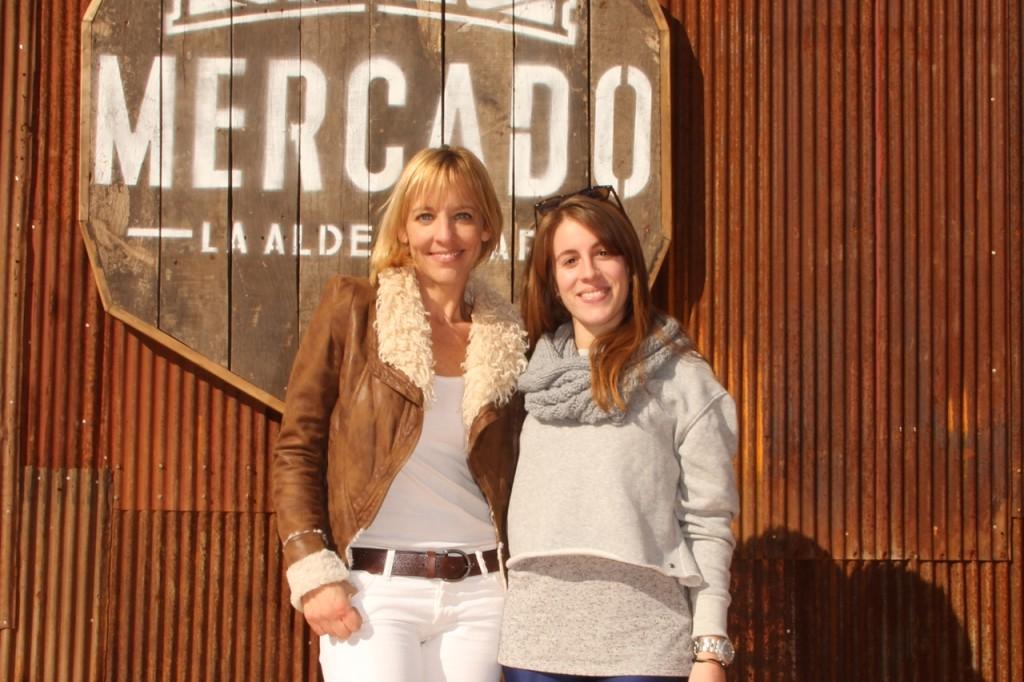 Jimena Monteverde y Laura Esquivel
