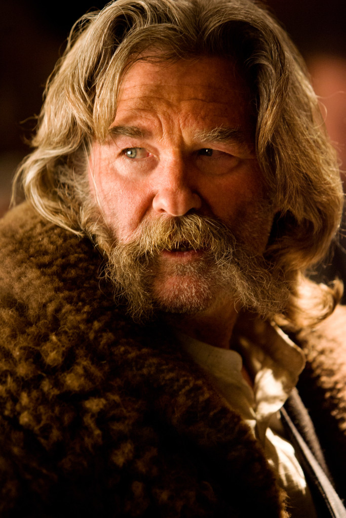 KURT RUSSELL stars in THE HATEFUL EIGHT. Photo: Andrew Cooper, SMPSP © 2015 The Weinstein Company. All Rights Reserved.