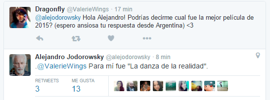 Alejandro Jodorowsky alejodorowsky Twitter