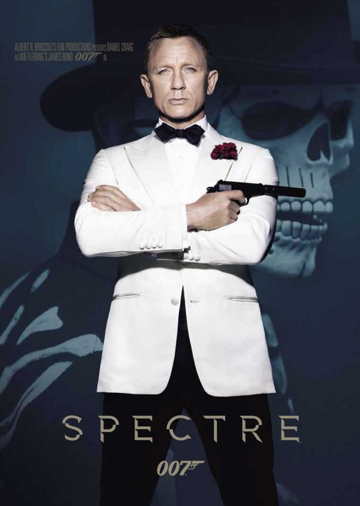Tapa 007 Spectre DVD