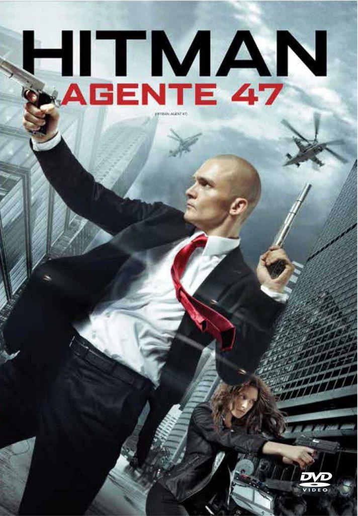 Tapa Hitman Agente 47 DVD
