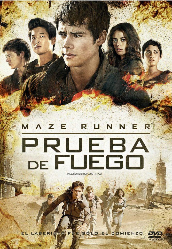 Tapa Maze Runner - Prueba de fuego DVD