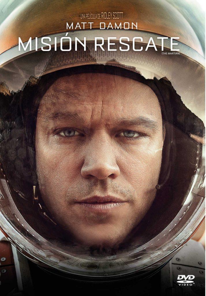 Tapa Misión rescate DVD