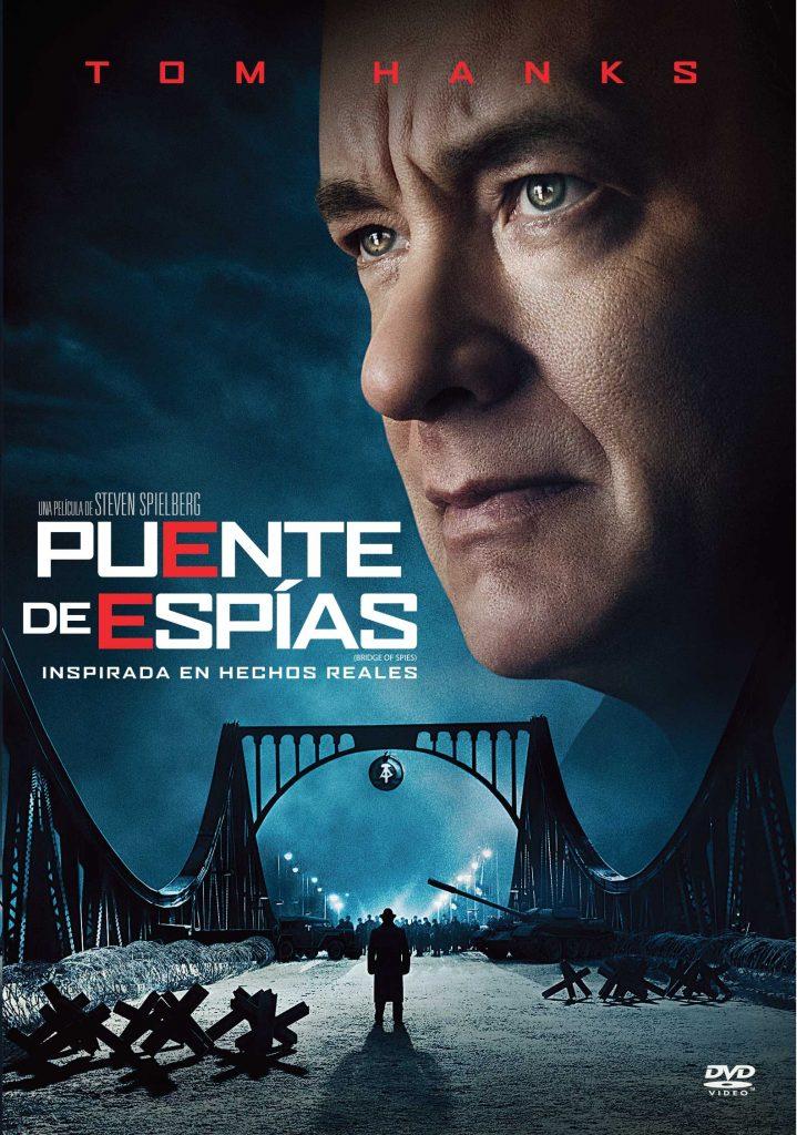 Tapa Puente de espías DVD