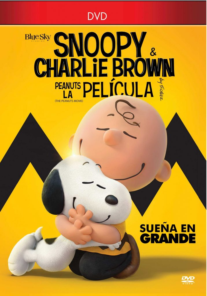 Tapa Snoopy y Charlie Brown DVD