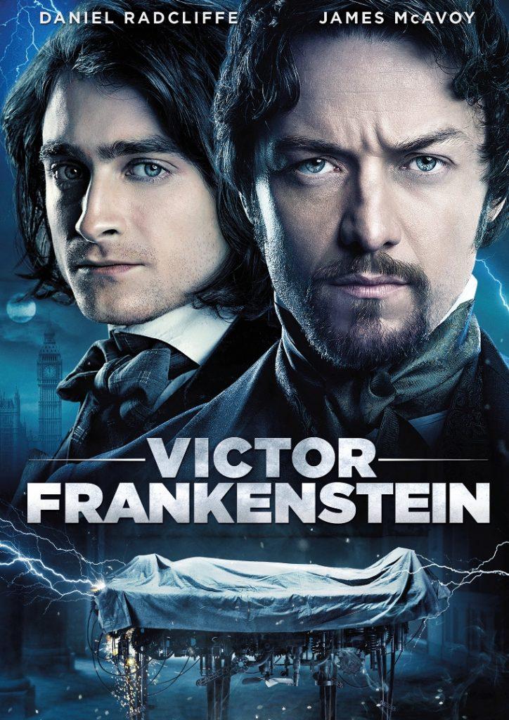 Tapa Victor Frankenstein DVD