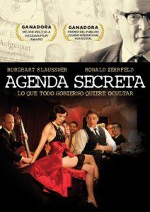 Tapa Agenda secreta DVD