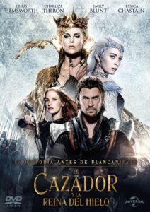 Tapa El Cazador y la Reina del Hielo DVD