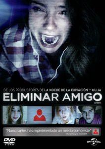 Tapa Eliminar Amigo DVD