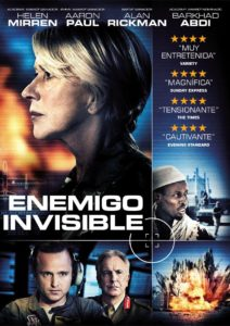 Tapa Enemigo invisible DVD