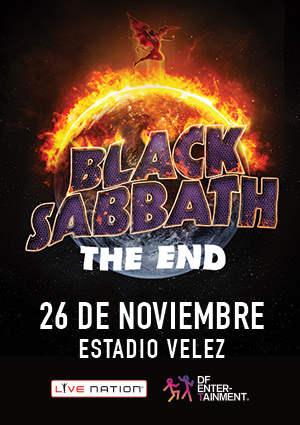 "BLACK SABBATH ""THE END"" Tour final @ Estadio Velez Sarsfield 