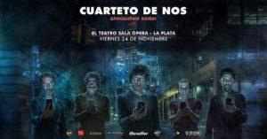 EL CUARTETO DE NOS en La Plata @ El Teatro Sala Opera | La Plata | Buenos Aires | Argentina