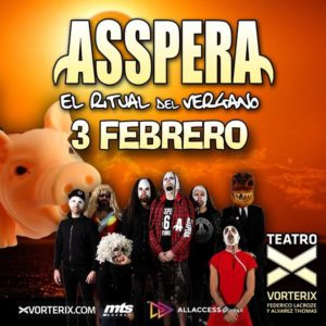 ASSPERA en VORTERIX @ Teatro Vorterix | Buenos Aires | Argentina