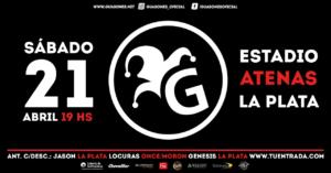 GUASONES en LA PLATA @ Microestadio Atenas | La Plata | Buenos Aires | Argentina