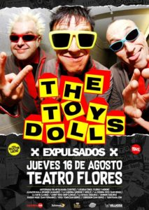 The Toy Dolls regresa a Argentina! @ Teatro Flores | Buenos Aires | Argentina