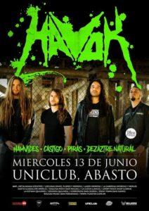 HAVOK EN ARGENTINA @ Uniclub | Buenos Aires | Argentina
