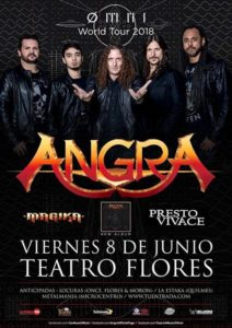 ANGRA REGRESA A ARGENTINA @ Teatro Flores | Buenos Aires | Argentina