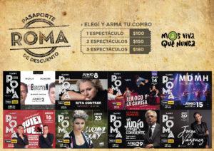 Junio en el Teatro Roma de Avellaneda @ Teatro Municipal Roma | Avellaneda | Buenos Aires | Argentina