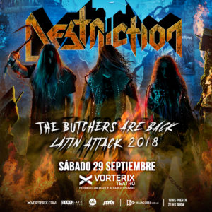 DESTRUCTION EN ARGENTINA! @ Teatro Vorterix | Buenos Aires | Argentina