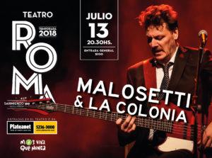 Julio en el Teatro Roma (Música y Teatro) @ Teatro Municipal Roma | Avellaneda | Buenos Aires | Argentina
