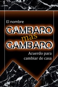 GAMBARO más GAMBARO El nombre - Acuerdo para cambiar de casa @ Teatro Buenas Artes Social Club | Buenos Aires | Argentina