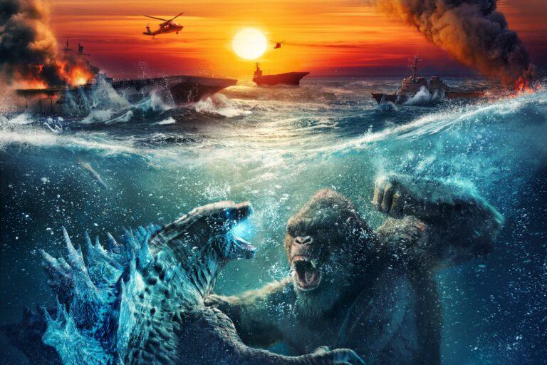 CINE: «Godzilla vs. Kong» Si es gorila no es compañero